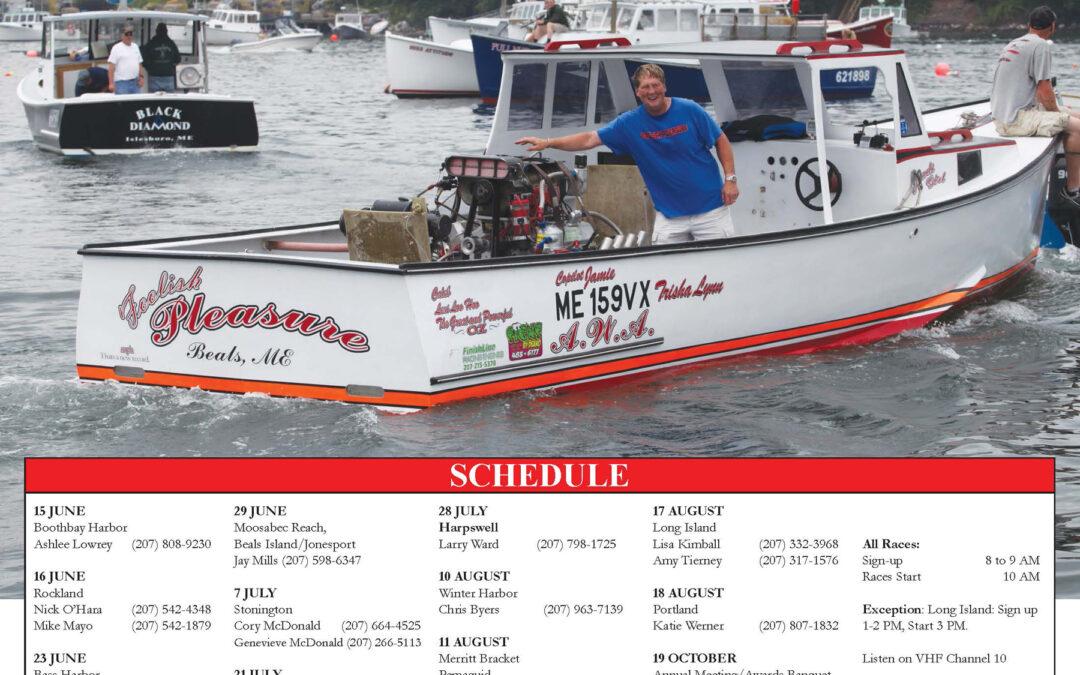 2019 Maine Lobster Boat Racing Schedule