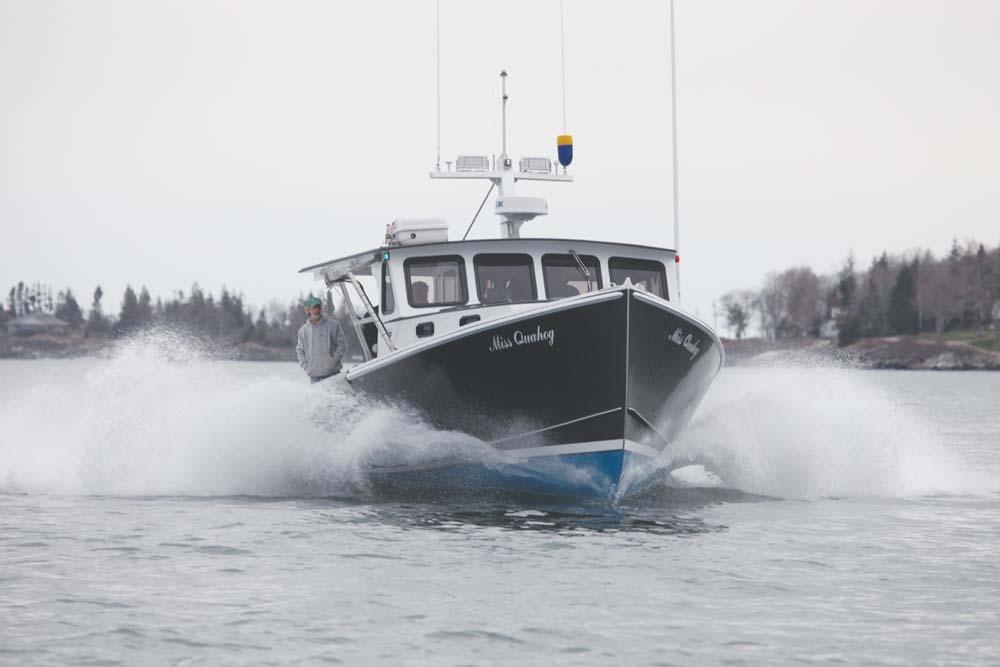 Farrin's Boat Shop Launches MISS QUAHOG