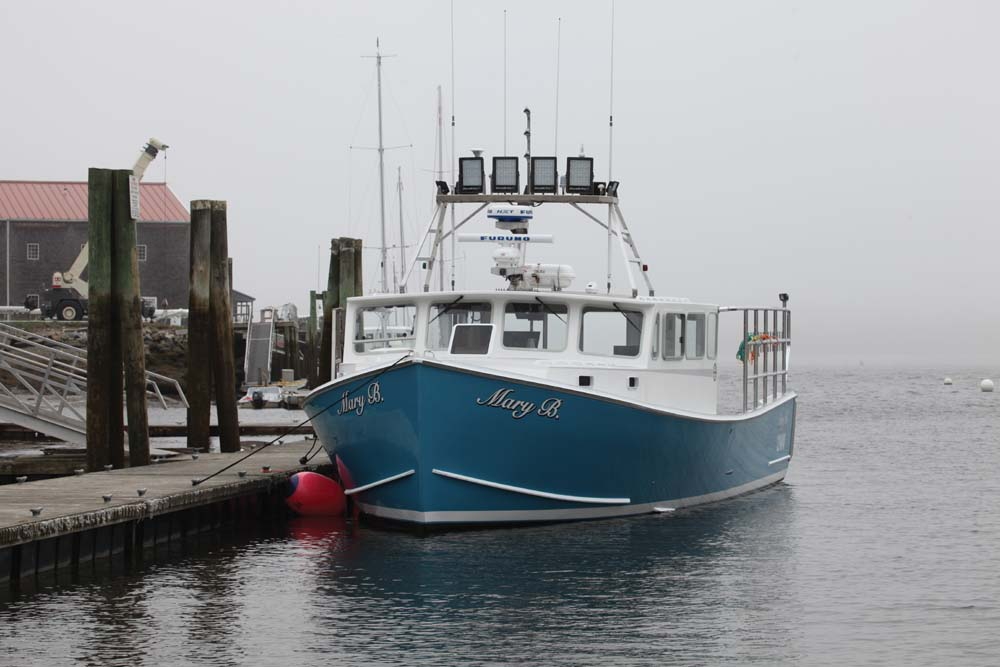 MARY B. Launched by Mainely Boats of Cushing