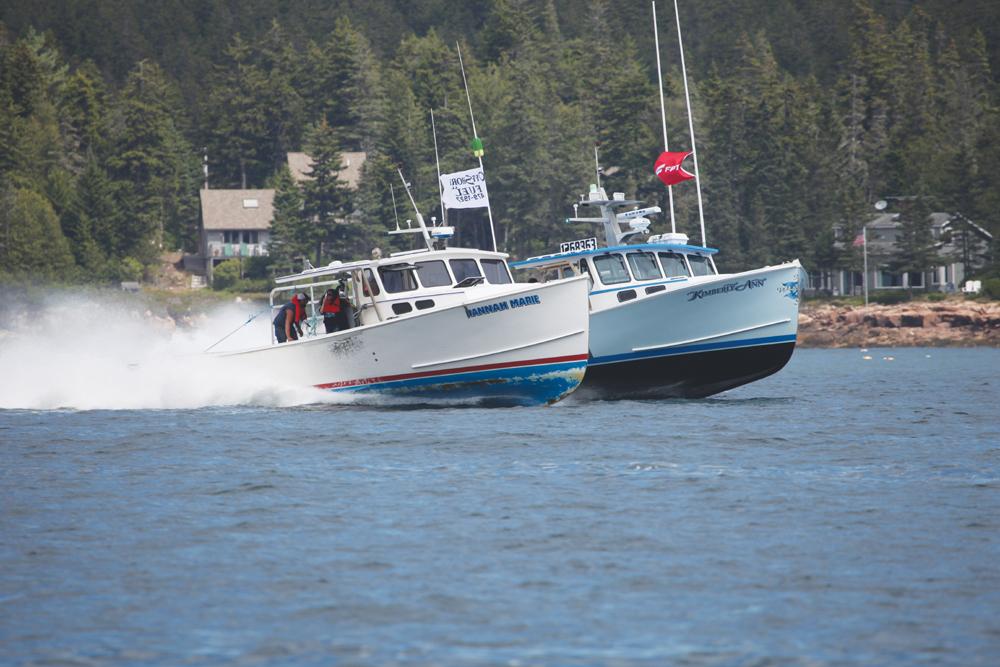 Lobster Boat Race Season Ends at Portland