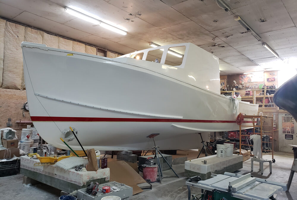 Winter Work Piling Up for Boatbuilders & Repairers