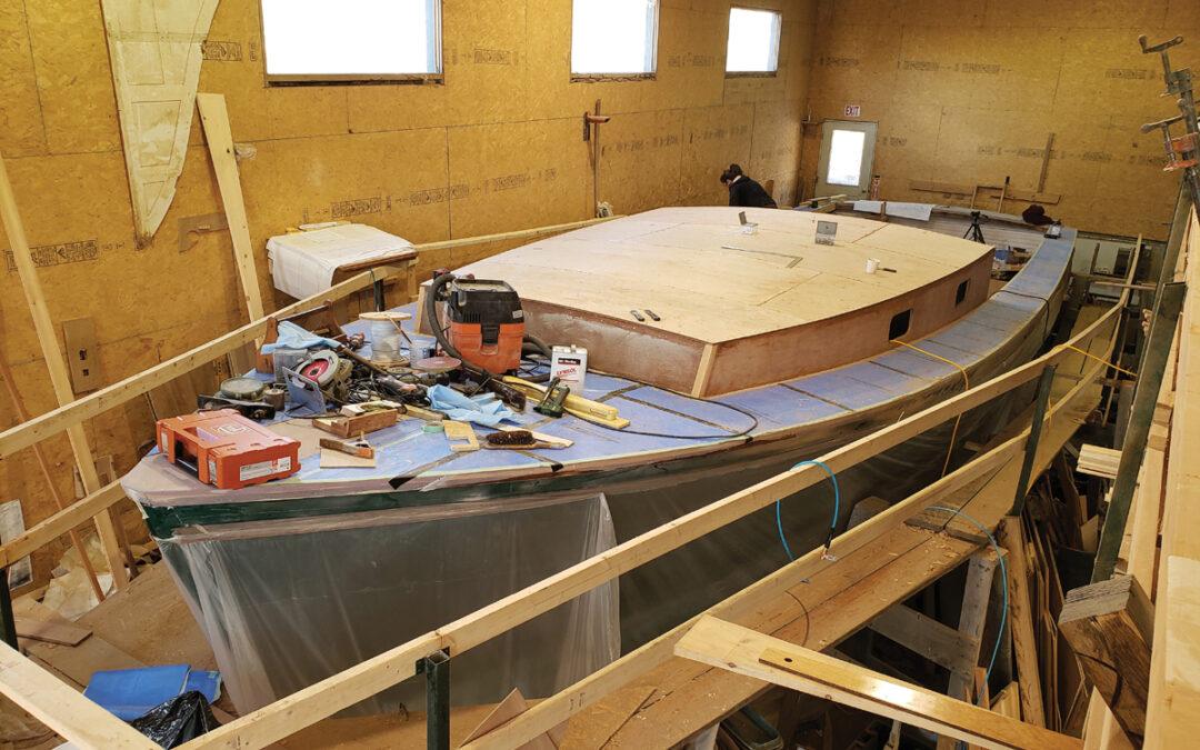 Boatbuilder & Boat Yards Scrambling to Get Work Done