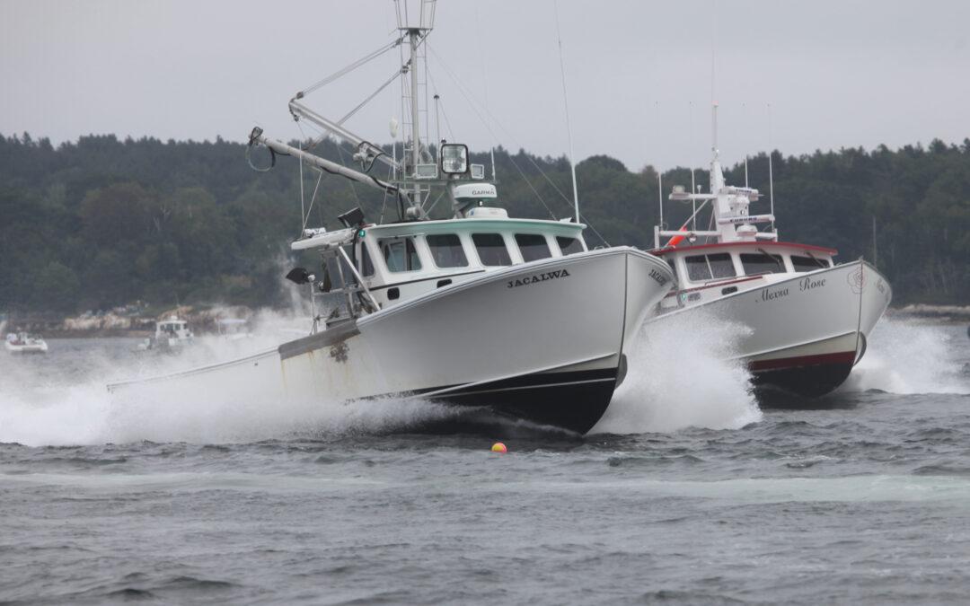 Lobster Boat Race Season Concludes at Long Island & Portland